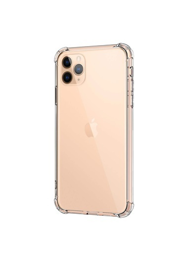 Microsonic Shock Absorbing Kılıf Apple iPhone 11 Pro Max (6.5'') Şeffaf Renksiz